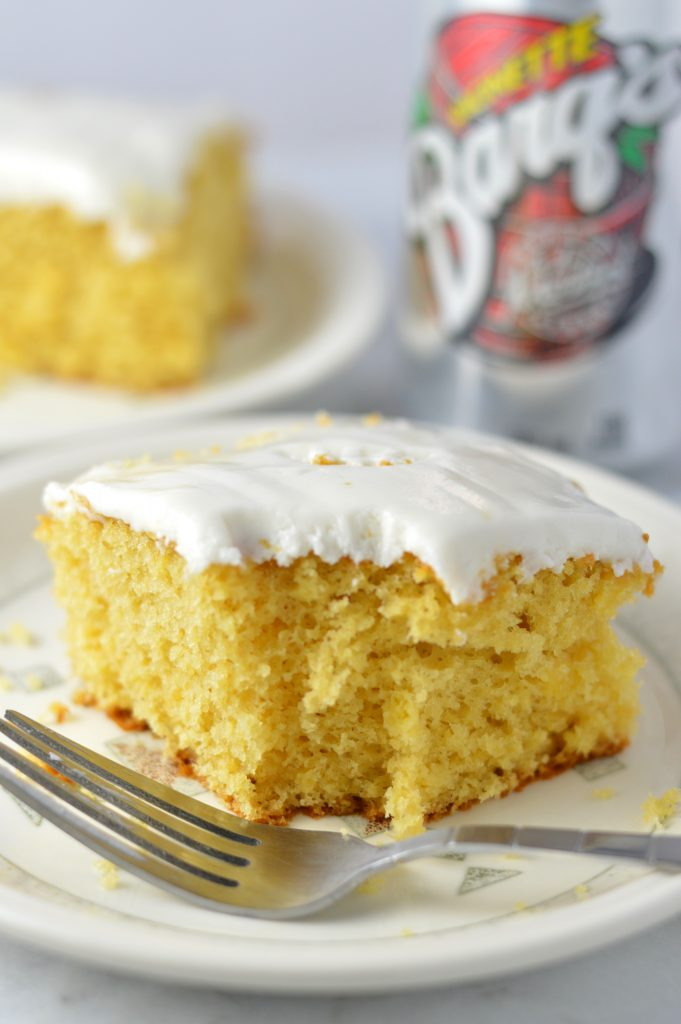 Easy Root Beer Float Cake A Taste Of Madness